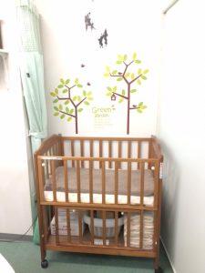 接骨院赤ちゃん用ベッド