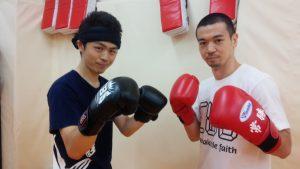 ボクシングトレーナー